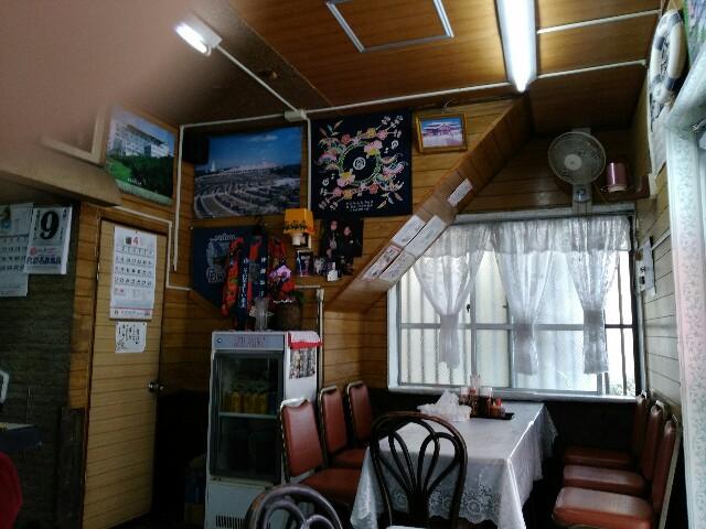 ことぶき食堂の内装