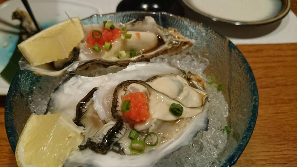 旬香の生牡蠣