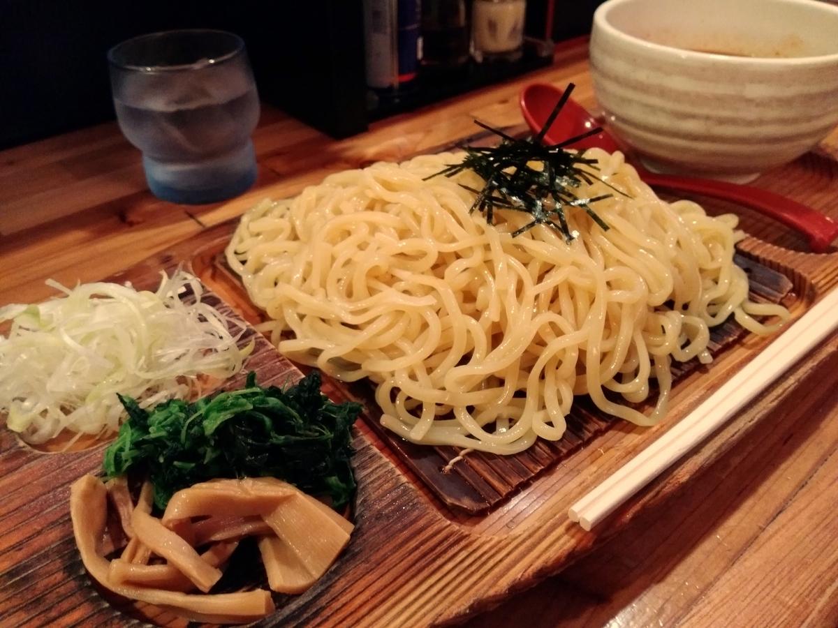『麺場 神徳』:辛つけ麺