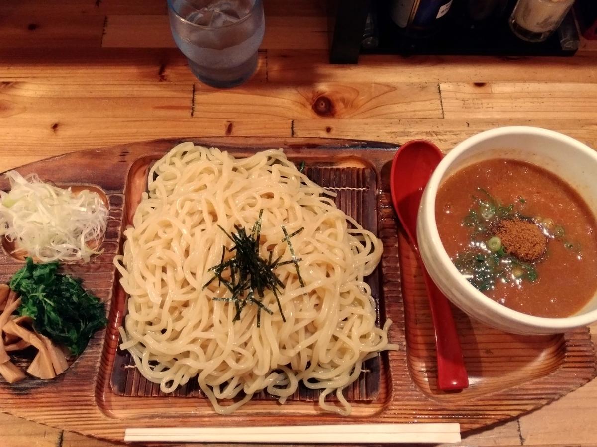 『麺場 神徳』:辛つけ麺登場