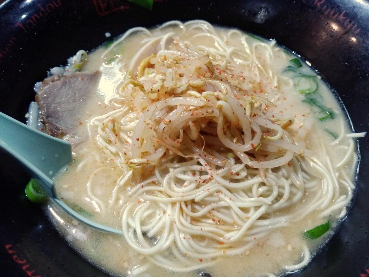 琉球新麺 通堂:フルトッピング