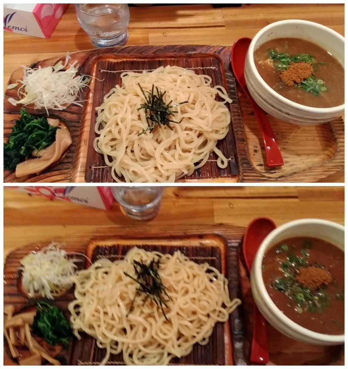 麺場神徳:つけ麺&辛つけ麺