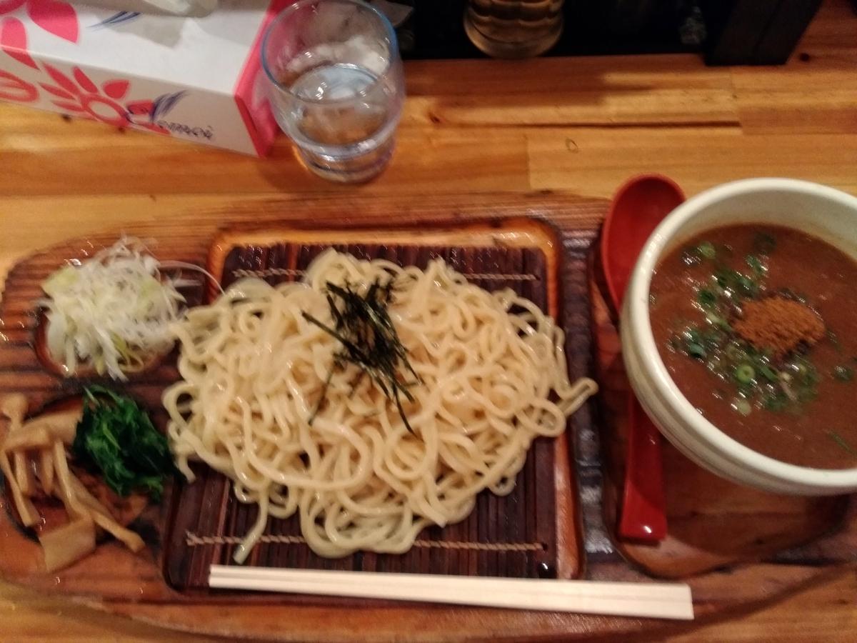 麺場神徳:辛つけ麺