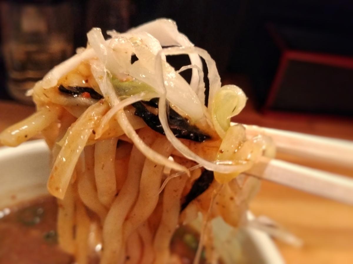 麺場神徳:辛つけ麺実食