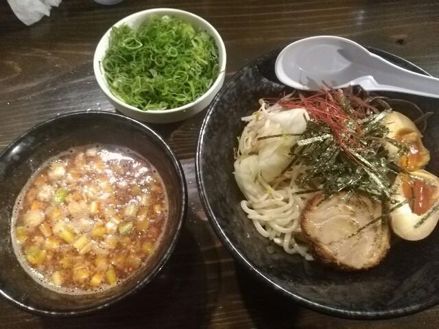 """虎威原:辛味噌つけ麺+どっさり九条ねぎ""""f:id:bokushi1990:20190609170928j:image"""""""