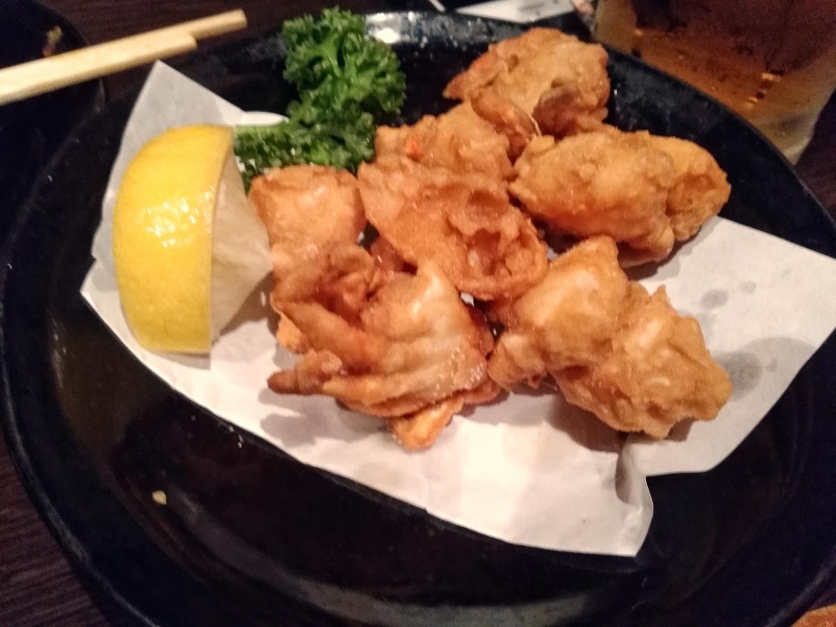 食いしん坊太郎:蟹の唐揚げ