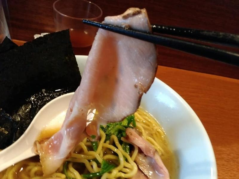 麺処 みな家:豚骨醤油らーめんのチャーシュー