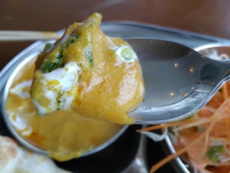 カスタマンダップ:チキンビニジワラ実食