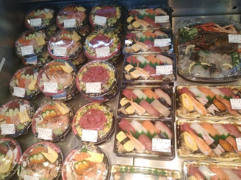 泊いゆまち:海鮮丼弁当も売ってます