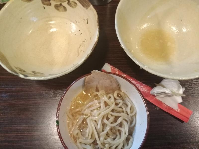 麺道 くろとん:つけG麺デラMAXジャンキー 実食⑤