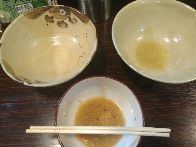 麺道 くろとん:つけG麺デラMAXジャンキー 完食