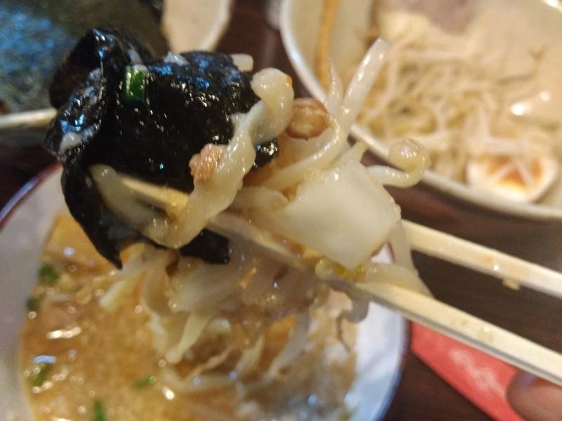 麺道 くろとん:つけG麺デラMAXジャンキー 実食④