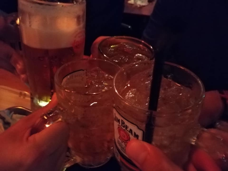 ちびかつ商店三丁目:乾杯
