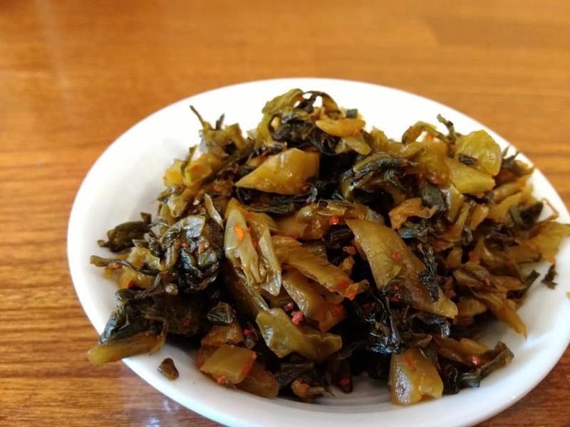 らぁ麺 悠心:高菜実食①