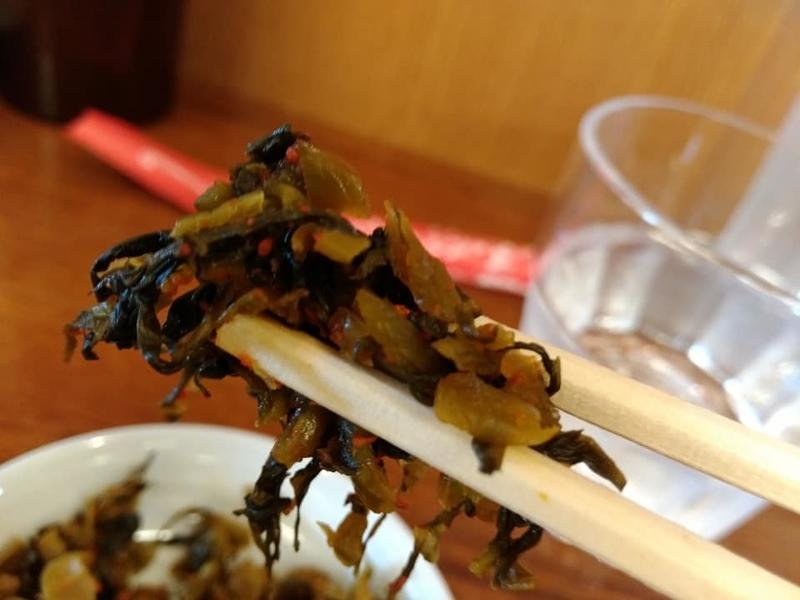 らぁ麺 悠心:高菜実食②