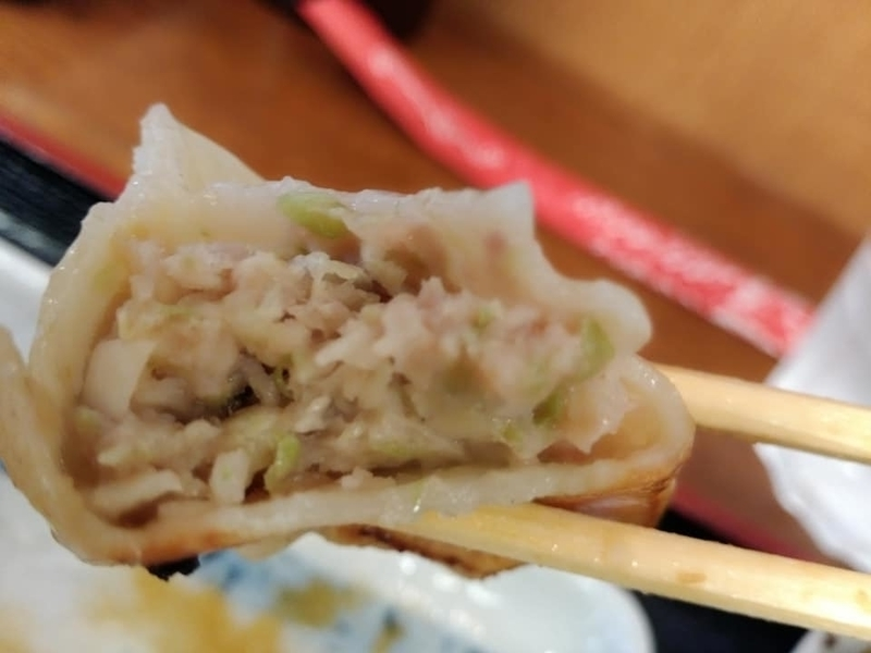 らぁ麺 悠心:餃子実食