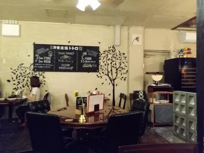 洋食酒場 トトロ:内観①