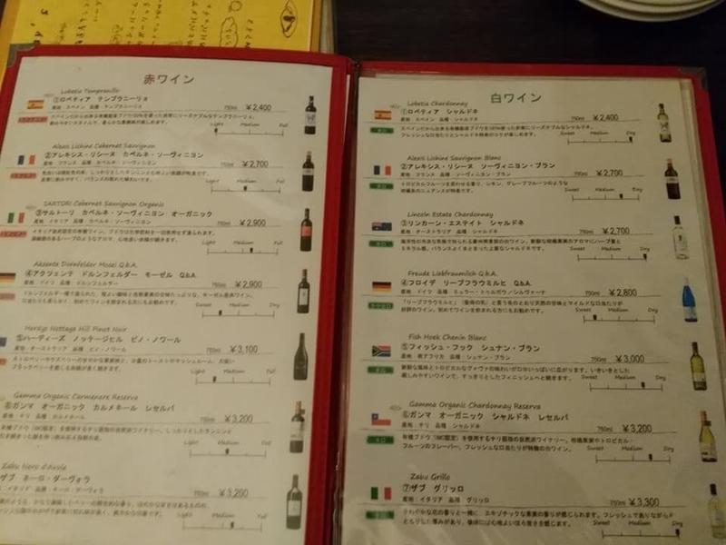 洋食酒場 トトロ:ドリンクメニュー②