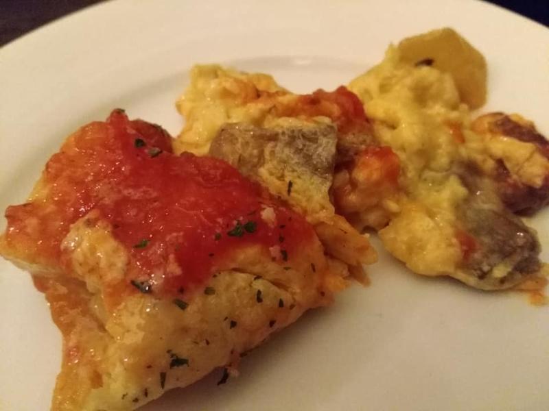 洋食酒場 トトロ:スペインオムレツ実食