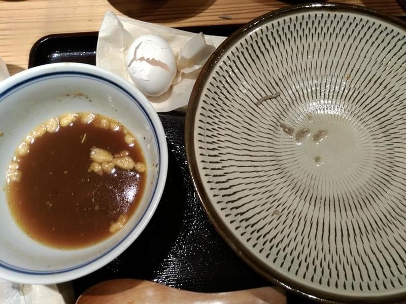 つけ蕎麦 安土:完食