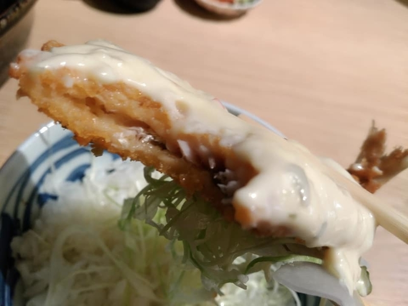オサカナノヒ:アジフライ丼実食