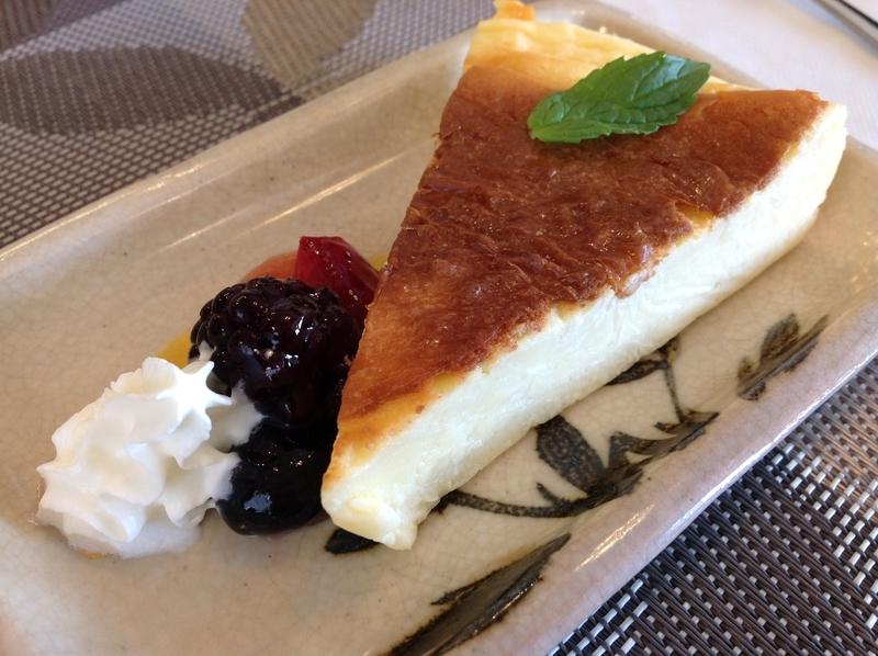 くじらブックス&Zou Cafe:チーズケーキ