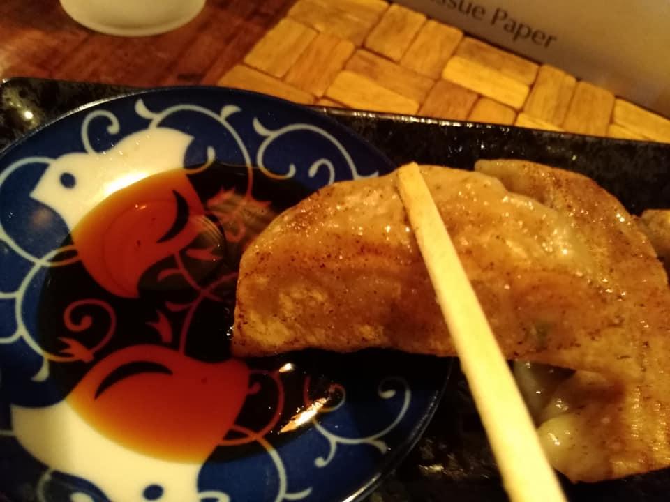 天神矢:餃子実食