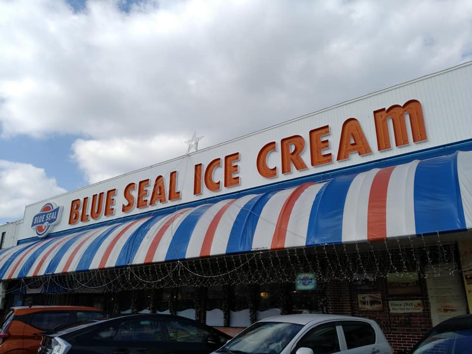 BLUE SEAL ICE CREAM:外観