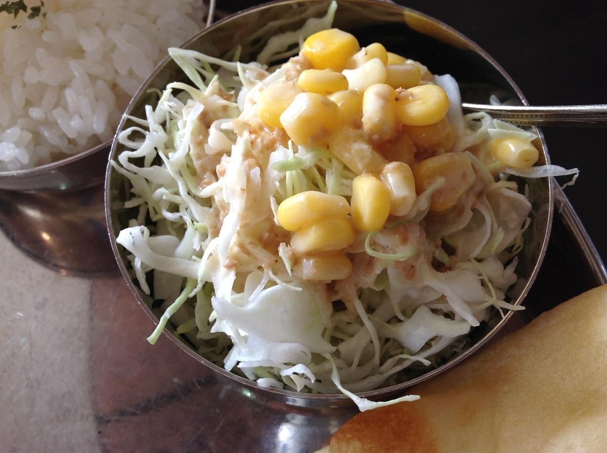 M's curry(エムズカリー):サラダ