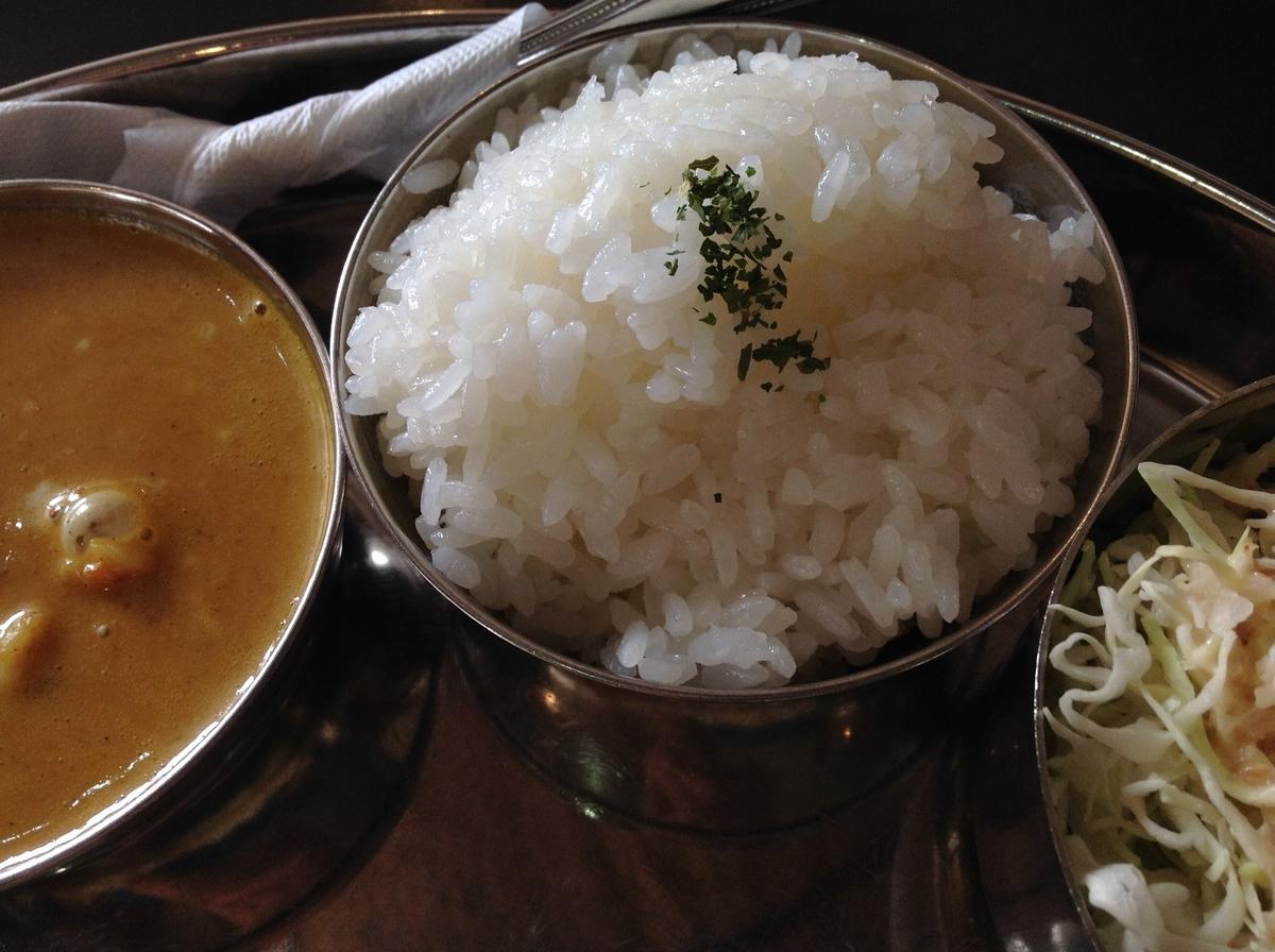 M's curry(エムズカリー):ライス