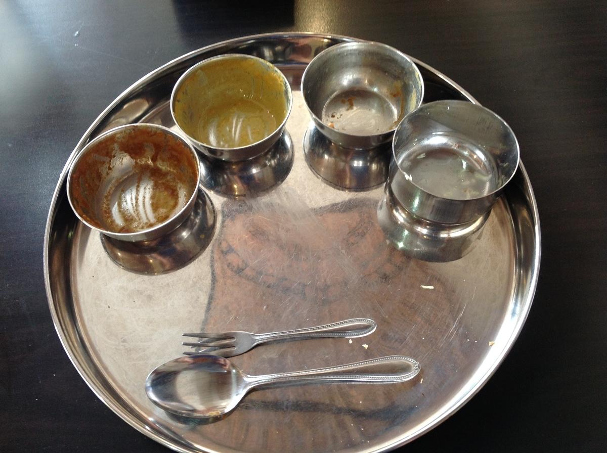 M's curry(エムズカリー):完食