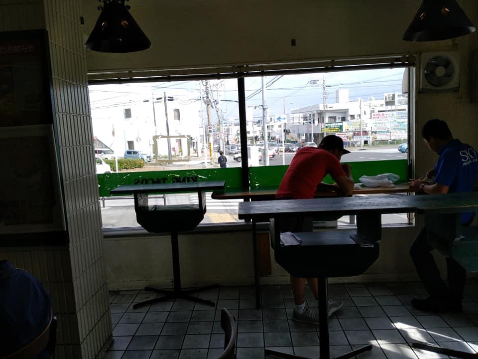 キングタコス 長田店:店内イートイン