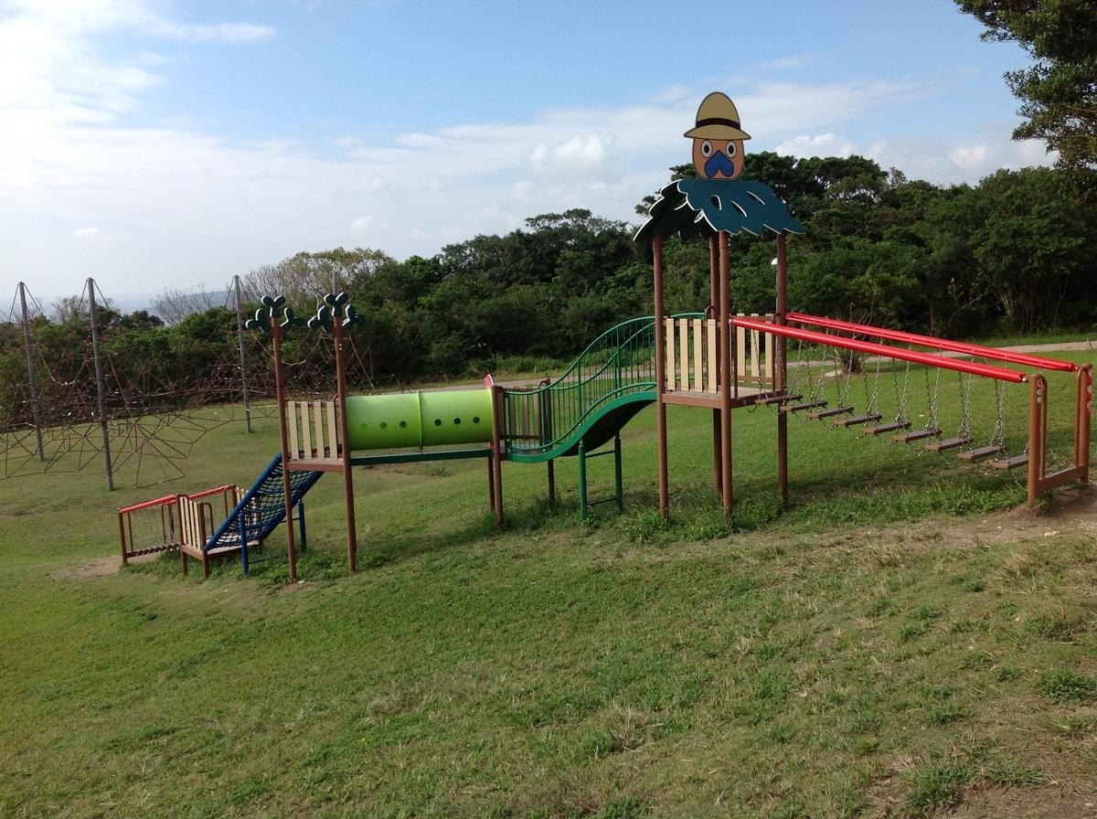 グスクロード公園:4歳児以上推奨のジム