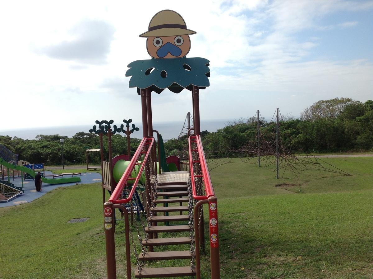 グスクロード公園:4歳児以上推奨のジム②