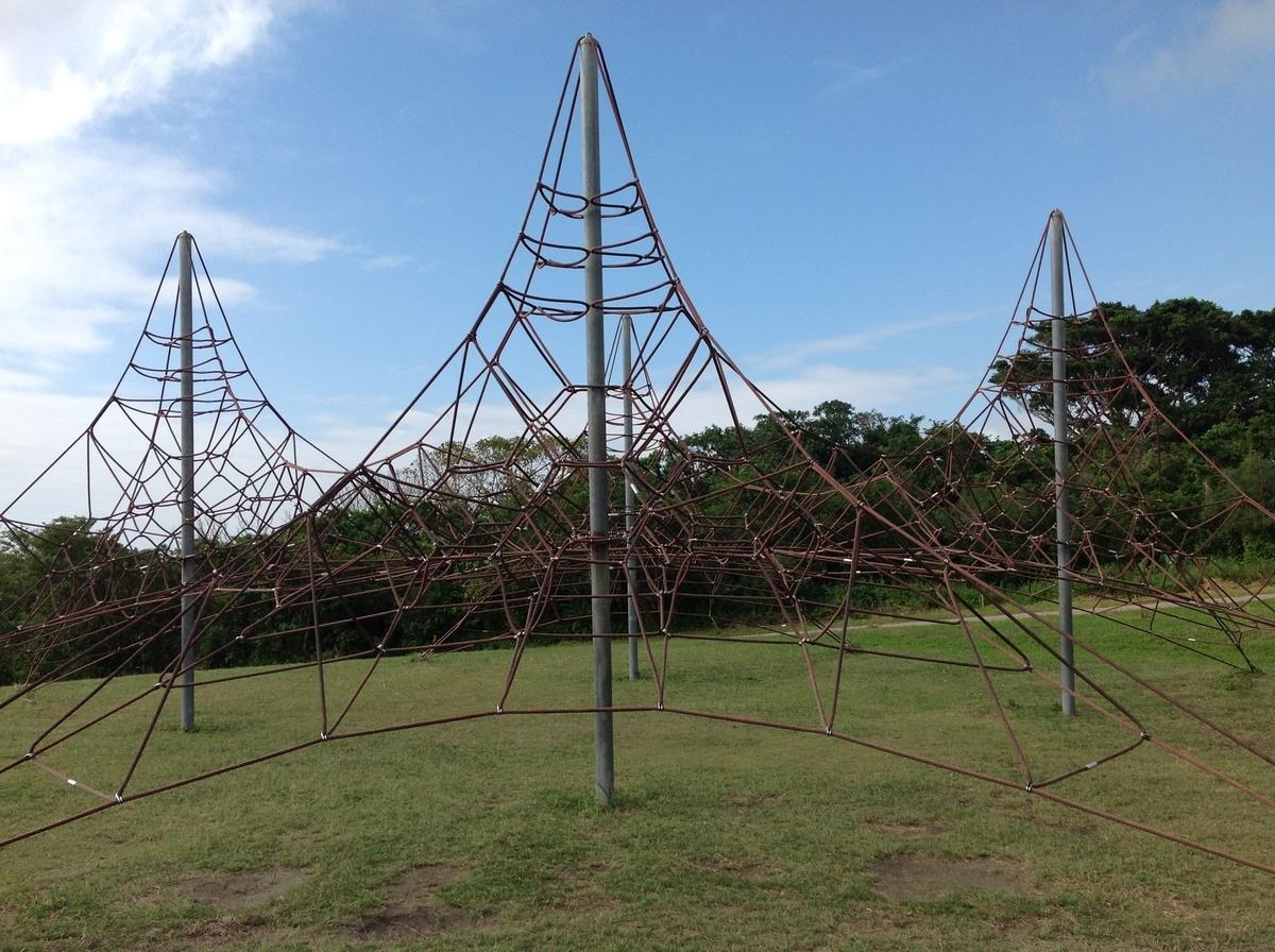 グスクロード公園:ジャングルロープ
