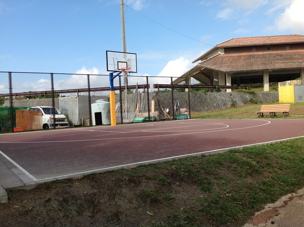 グスクロード公園:バスケットコート