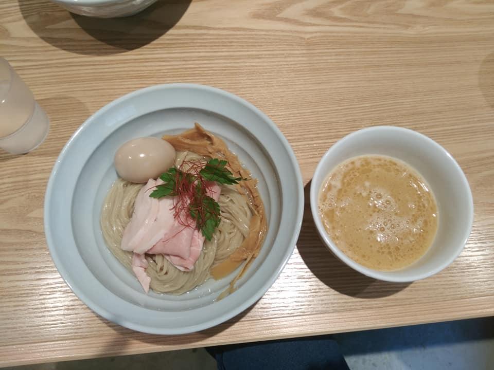 Noodle Dining 麺D(ヌードルダイニング メンディー):ゆず醤油つけ麺