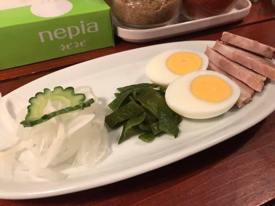つけ麺SAKURA:つけ麺トッピング