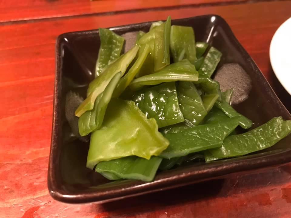 つけ麺SAKURA:茎わかめ追加