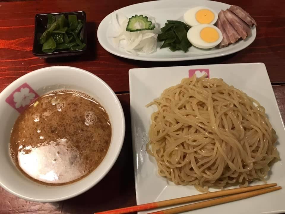 つけ麺SAKURA:つけ麺大盛り