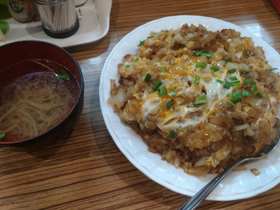 お食事処三笠 久米店:ちゃんぽん