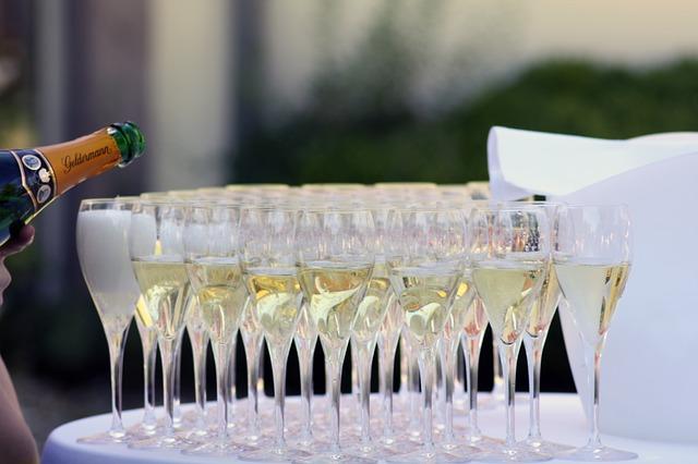 美味しいシャンパン