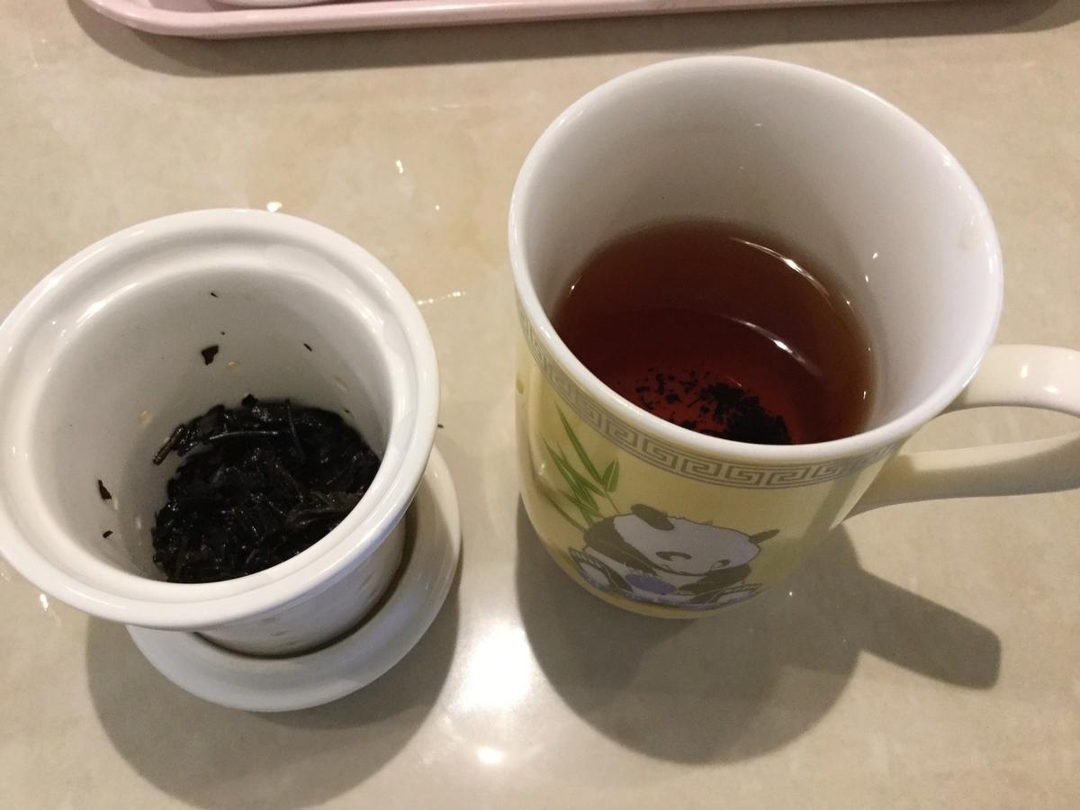 茶葉が入れれる仕様になっています。