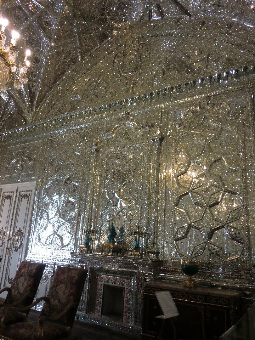 ゴレスターン宮殿 壁