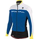 スポーツフル FLASH SOFTSHELL ジャケット ブルー/ホワイト XL