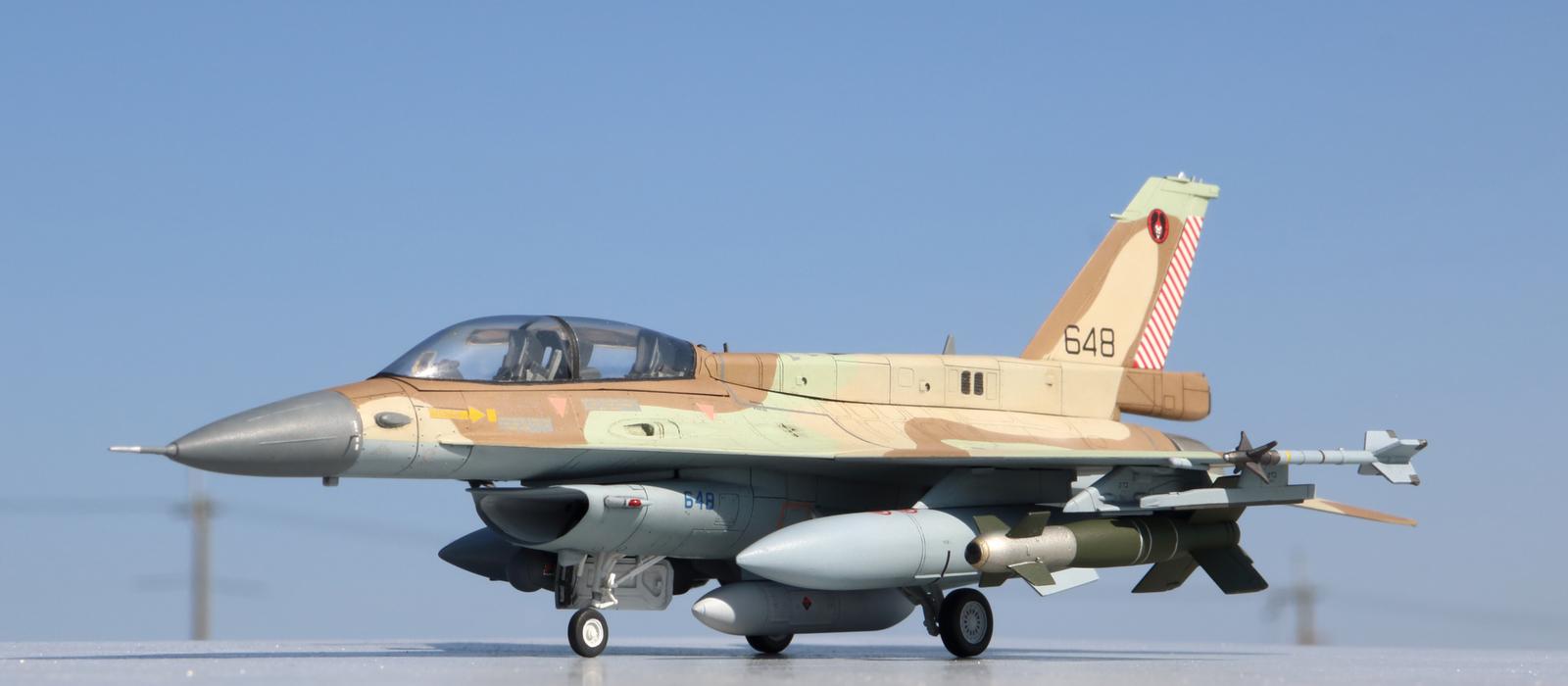 F-16D ブラキート イスラエル