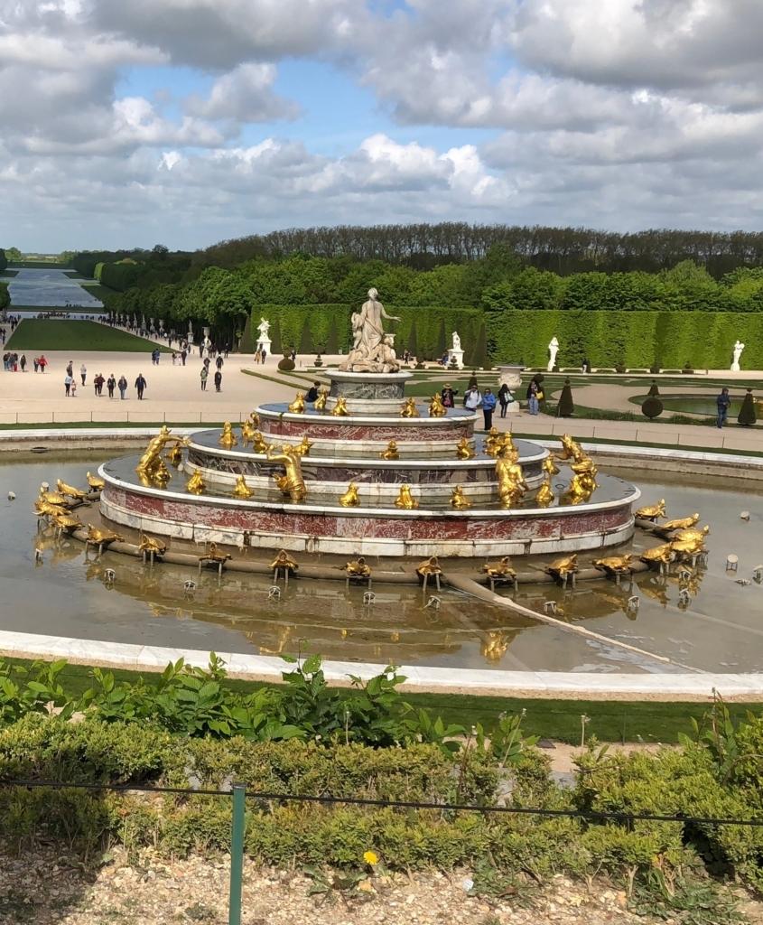 ベルサイユ宮殿の庭