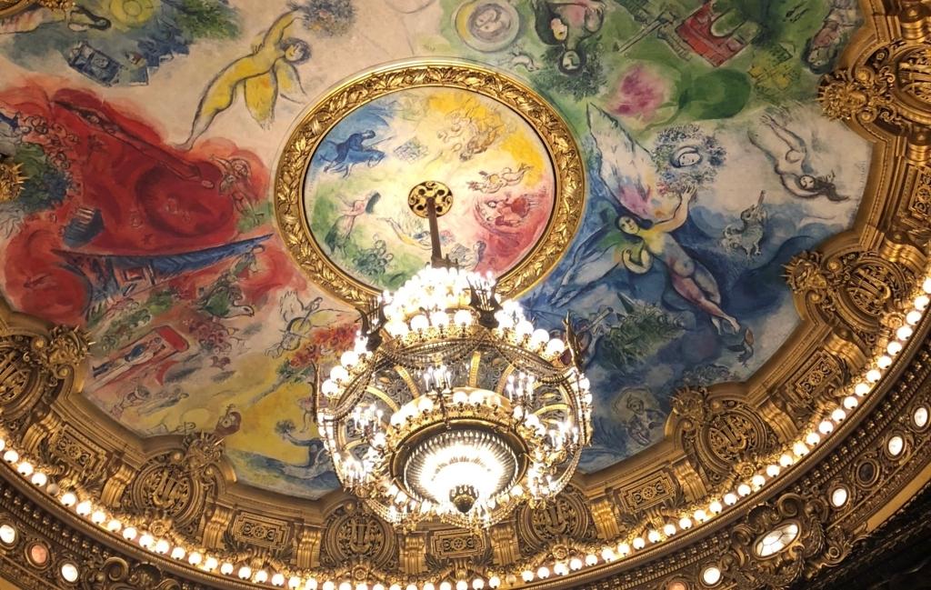 シャガールが描いた天井画