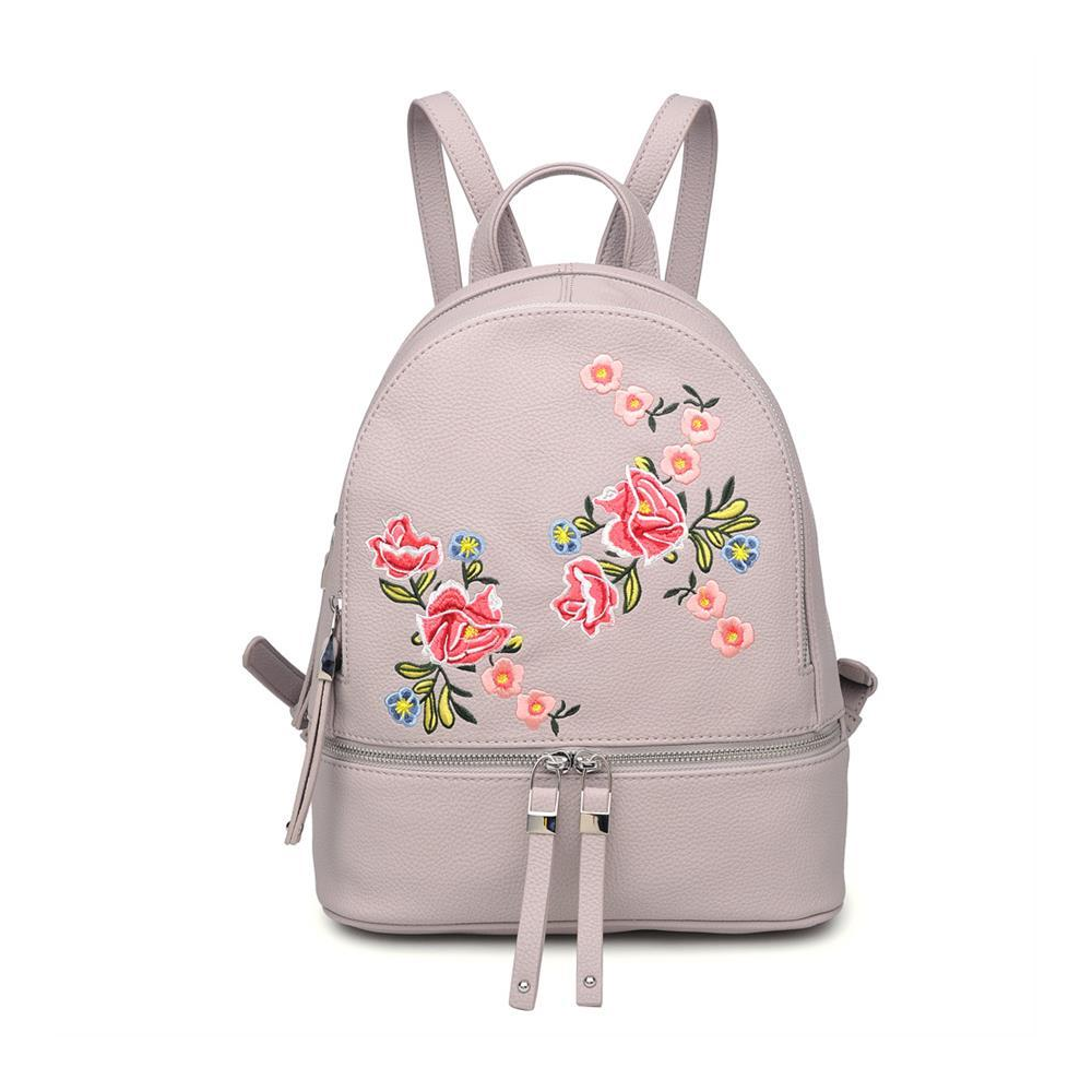 Rose vegan leather backpack