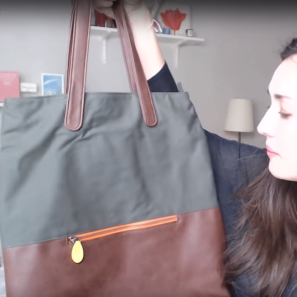 The green point weekender bag